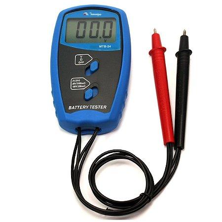 Testador de Bateria Minipa MTB-24