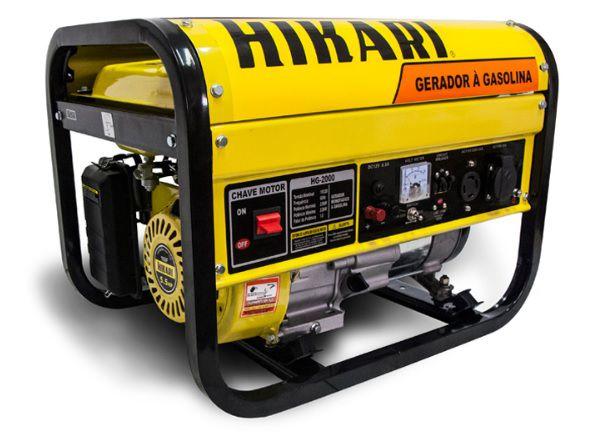 Gerador a Gasolina 2,2KW Hikari HG-2000