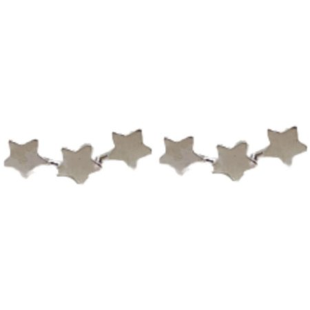 Brinco Earcuff Três Estrelas