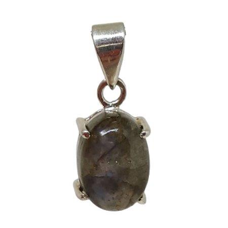 Pingente Labradorita Garras Prata 925
