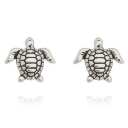 Brinco tartaruga boho