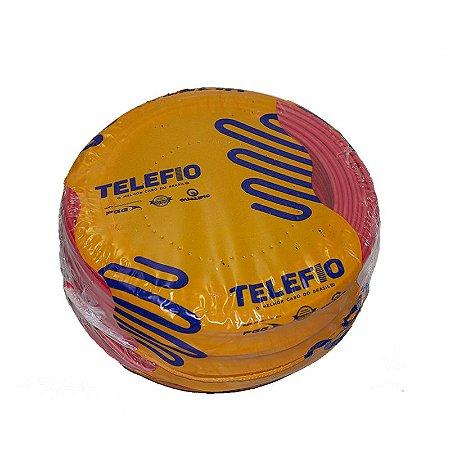 Cabo 1,5mm Flexível 750V Vermelho 100mt