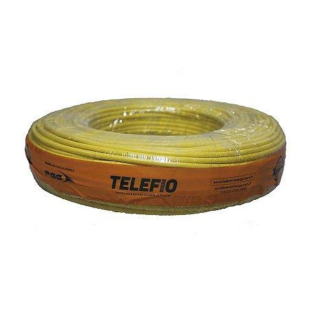 Cabo Flexível amarelo 4mm Rolo 100MT