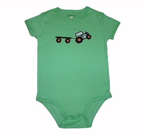 Body Bebê Verde