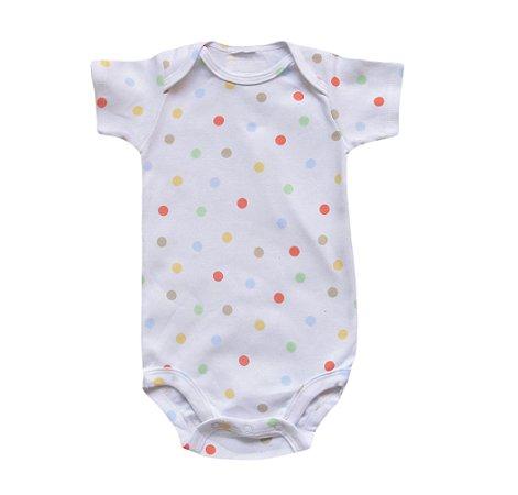 Body Bebê com Bolinhas