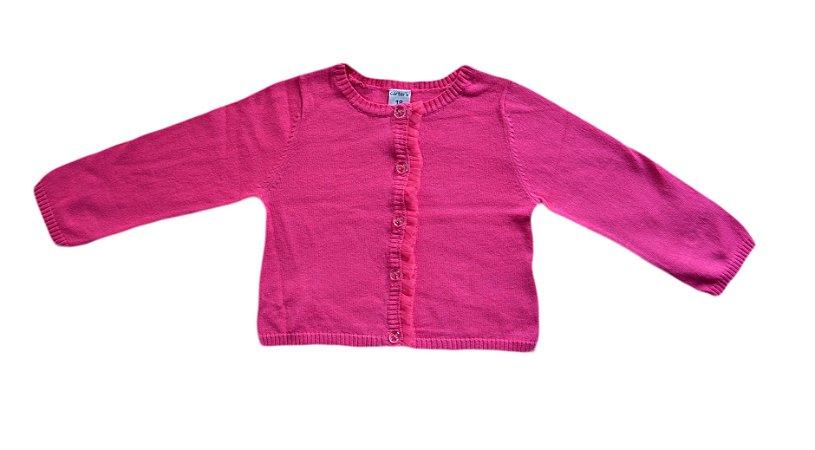 Cardigan Bebê Pink
