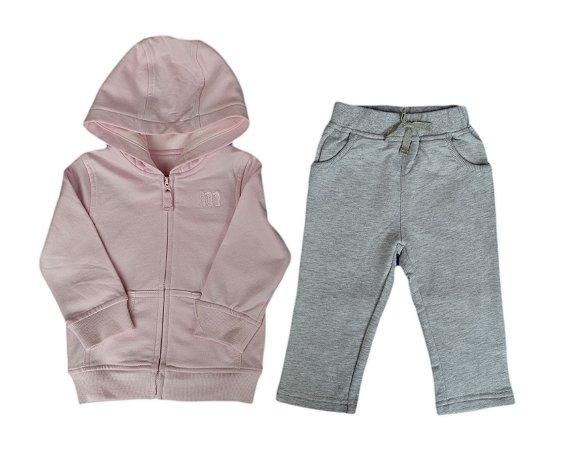 Conjunto Bebê Casaco e Calça