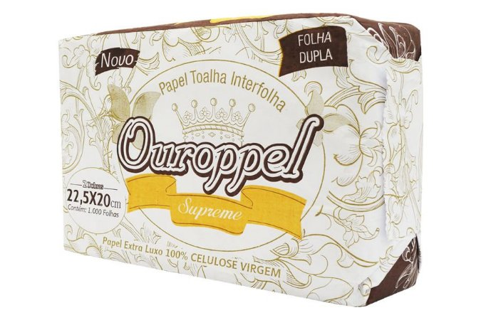 PAPEL  TOALHA INTERFOLHA OUROPPEL SUPREME