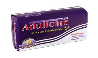 ABSORVENTE ADULTCARE - 20 unid.