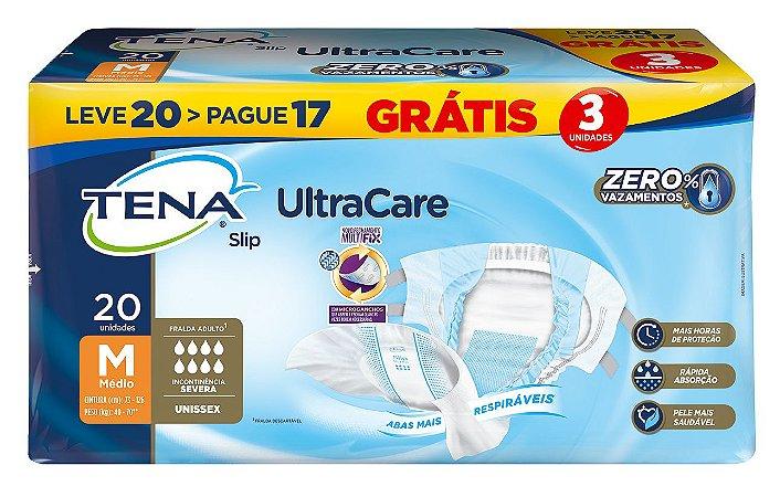 FRALDA GERIÁTRICA TENA SLIP ULTRACARE - 20 unidades