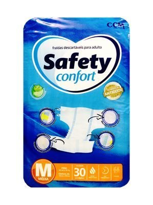 FRALDA GERIÁTRICA SAFETY CONFORT