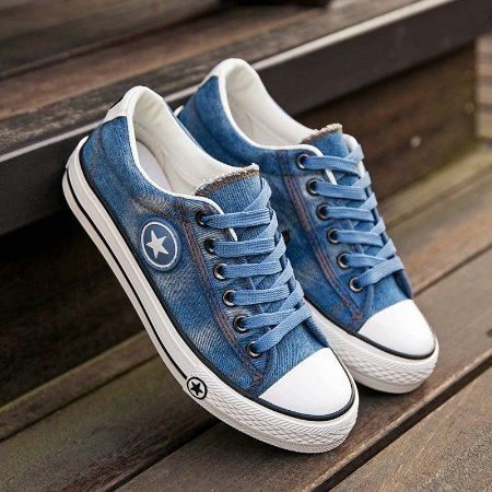 Tênis Casual Jeans Lavado Star