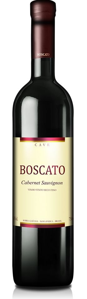 Vinho Boscato  Cave Cabernet Sauvignon 750ml SAFRA 2016