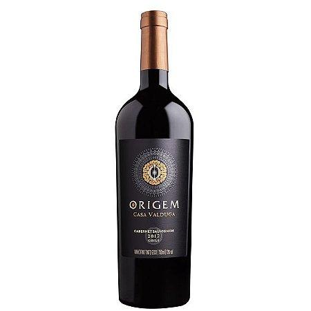 Vinho Casa Valduga Origem Cabernet Sauvignon 750ml CHILE