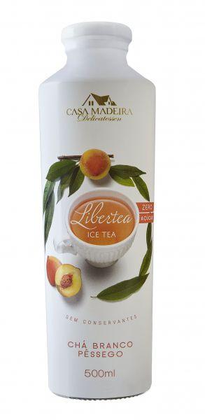 Chá Branco Pêssego 500ml