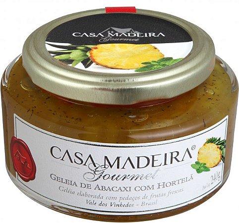 Geleia Gourmet Abacaxi com Hortelã 240g