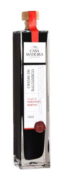 Creme Balsâmico Geleia de Morango com Pimenta 100ml