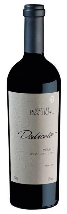 Vinho Dedicato Merlot 750ml