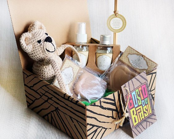 Kit Baby Dreams com urso de porta