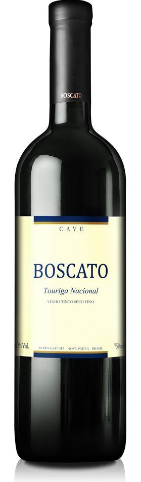 Vinho Boscato Touriga Nacional 750ml - Caixa com 06 unidades