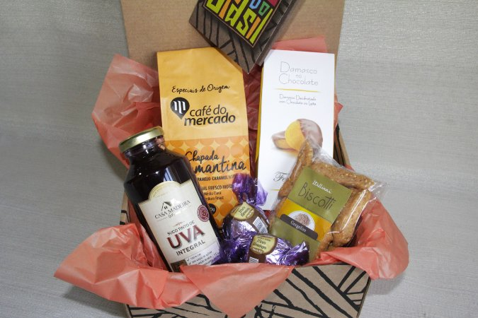 Kit Café Especial e Damasco no Chocolate