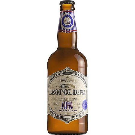 Cerveja Leopoldina American Pale Ale APA 500ml