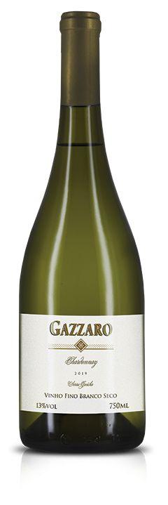 Vinho Gazzaro Chardonnay 750ml Safra 2019