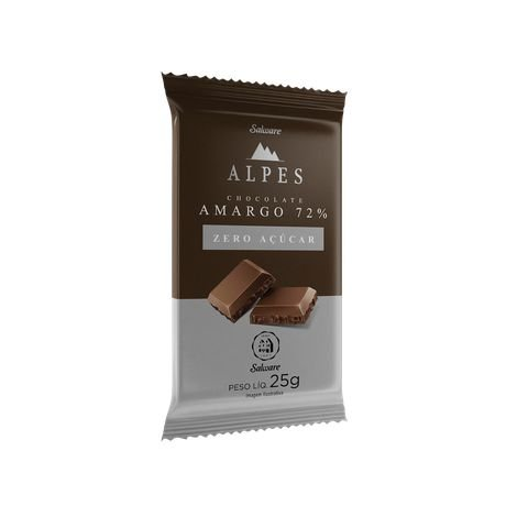 Alpes Chocolate Amargo 72% 25g