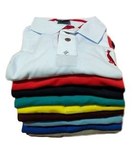 Kit Com 5 Camisa Polo Manga Curta Reserva