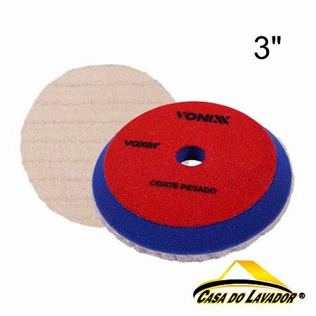 """Boina Voxer de Lã com Esponja 3"""" Vonixx"""