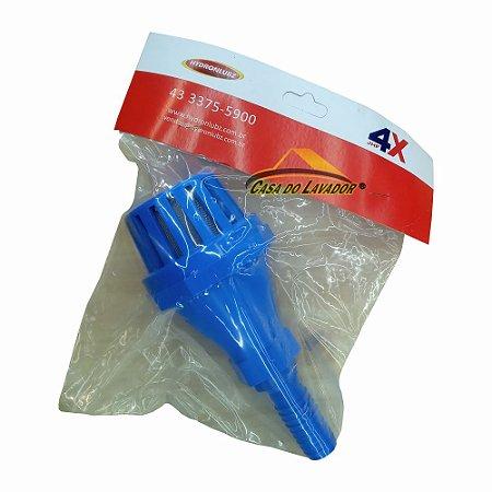 Filtro CJ Válvula de PE JHF 4X 3/4 C/ Tela Inox e Adaptador para Mangueira