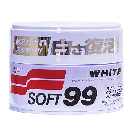 Cera Japonesa White Cleaner Soft99 Carros Claros 350g