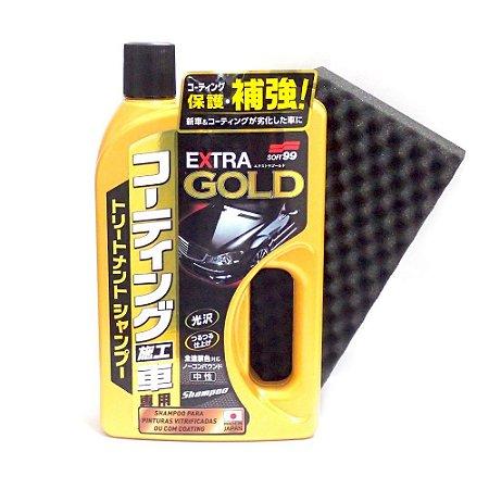 Shampoo Automotivo Extra Gold Para Carros Vitrificados 750ml - Soft99
