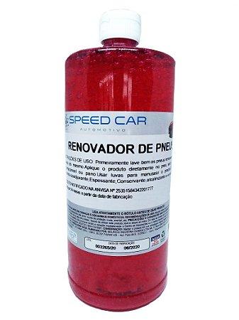 Pretinho de Pneus Renovador Red Speed Car 1000ml