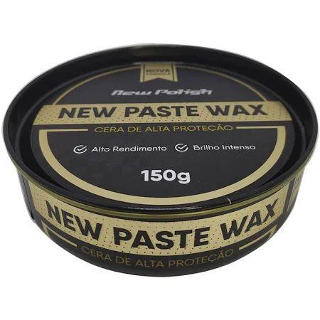 Cera de Carnaúba New Paste Wax New Polish 150g