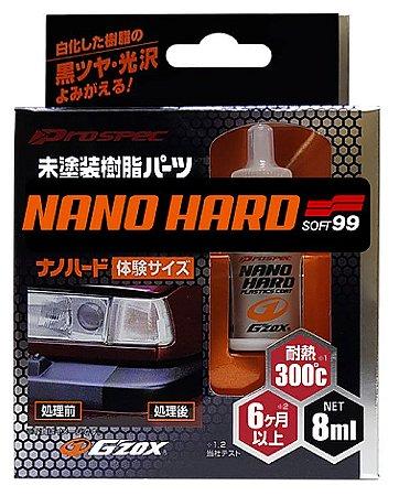 Nano Hard Coat Restaurador de Plásticos Soft99 8ml