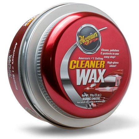 Cera Cleaner Wax Pasta 311g - Meguiars A1214