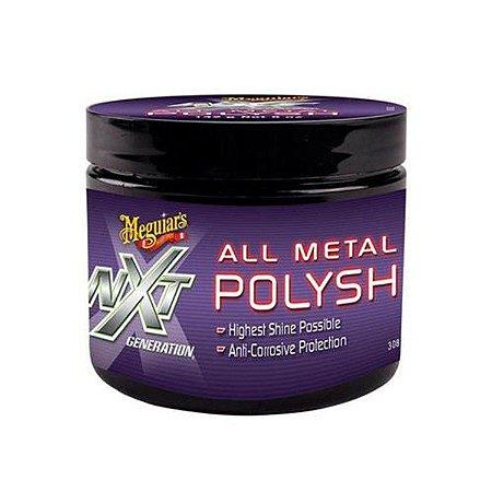 NXT Polidor de Cromados e Metais  - All Metal Polysh 142g -  Meguiars G13616