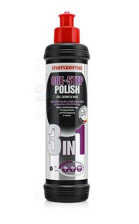 3 in 1 Menzerna One Step Polish - Corte, Lustro e Cera Proteção 250ml
