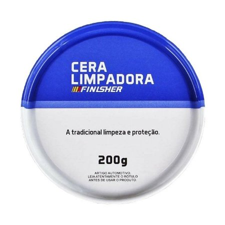 Cera Limpadora Finisher - 200g