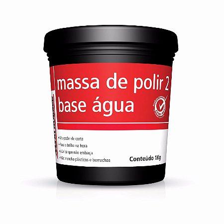 Massa de Polir a Base D'água Maxi Rubber - 1kg
