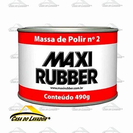 Massa de Polir N2 490g Maxi Rubber