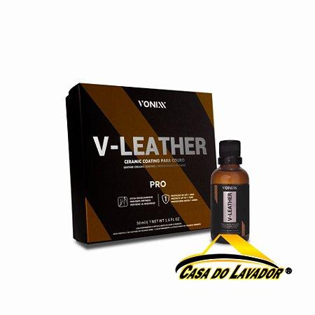 Vitrificador de Couro V-Leather 50ml Vonixx