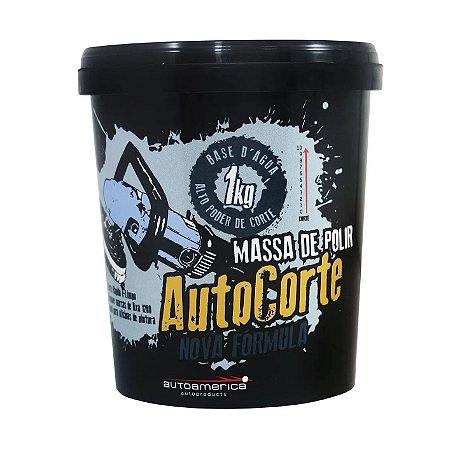 Massa de Polir Auto Corte 1kg - Autoamerica