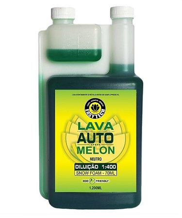Shampoo Automotivo Neutro Super Concentrado 1:400 Melon 1200ml EASYTECH