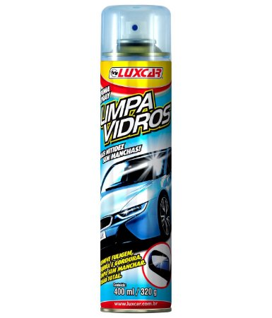 Limpa Vidros Spray 400 ml Luxcar