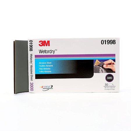 Lixa 3000 3M para Polimento 13,9 X 22,8
