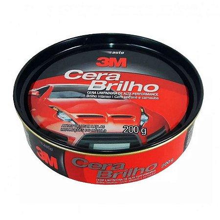 Auto Cera Brilho 200G  3M