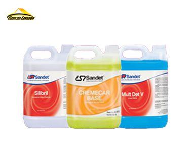 Kit Sandet Para Limpeza Automotiva