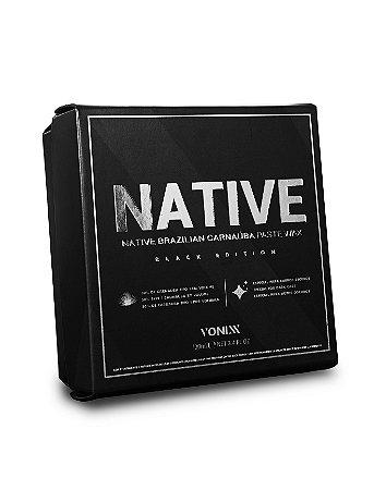 Native Paste Wax para Carros Escuros – Black Edition - Vonixx